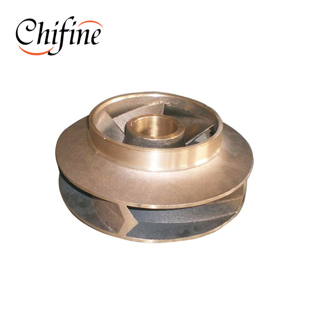 OEM Brass Copper Bronze Casting Water Pump Impeller