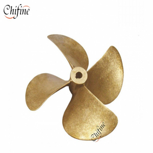 OEM High Precision 4 Blade Type Marine Ship Boat Cast Brass Propeller