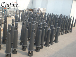 Municipal Machinery Part-Cast Bollard